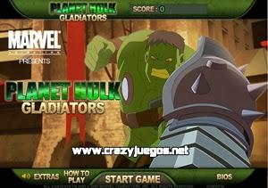Jugar Planet Hulk Gladiators