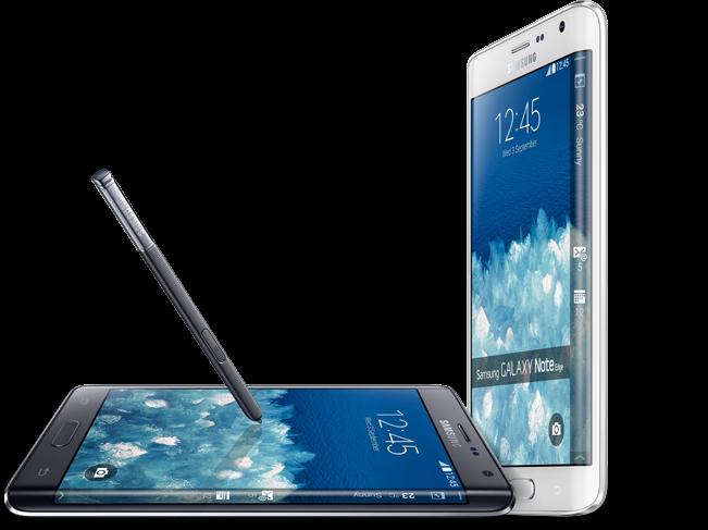 hp terbaru Samsung Galaxy Note Edge