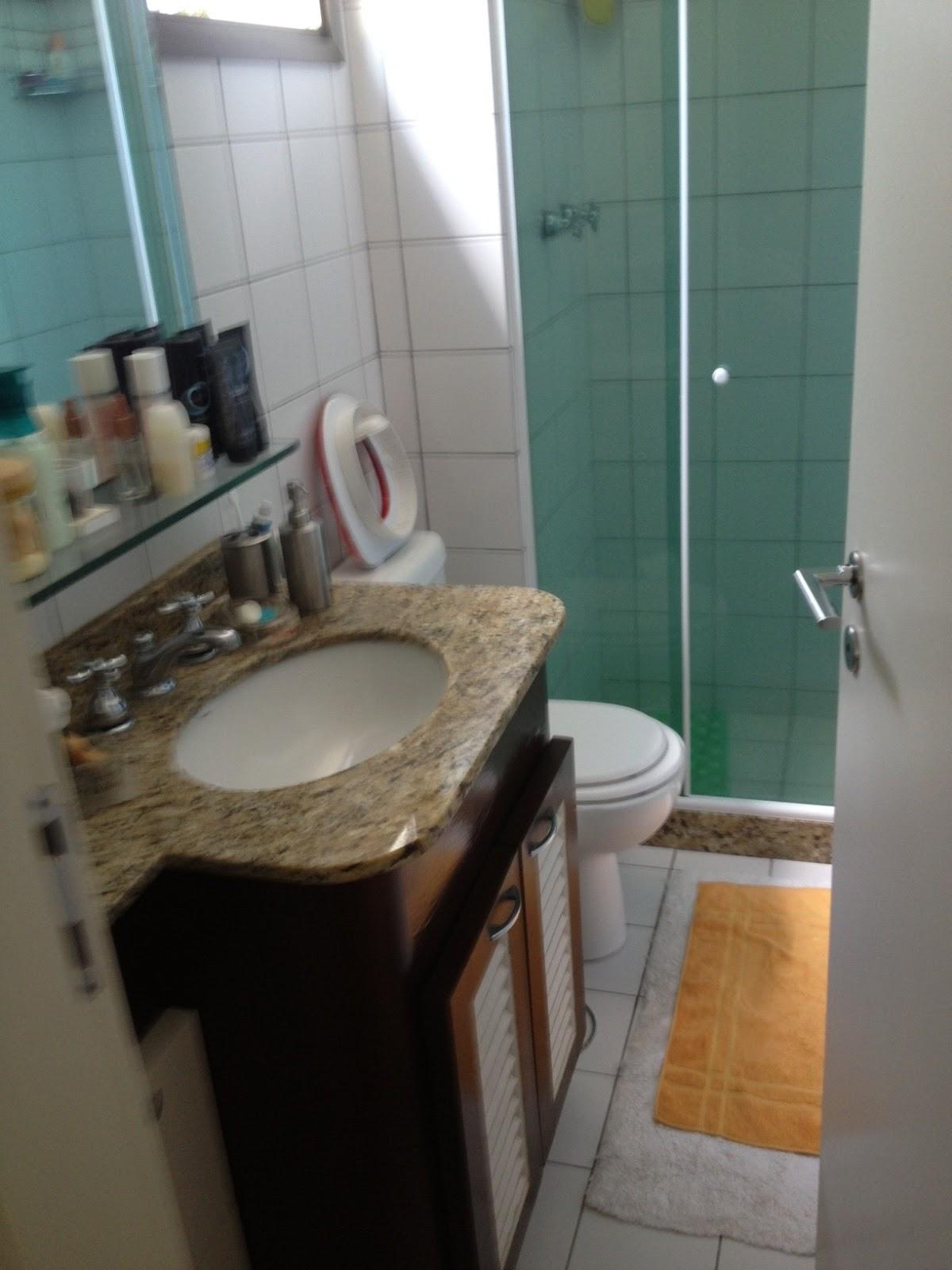 decorando com amor Reformando banheiro da suite # Banheiro Antigo Decorado