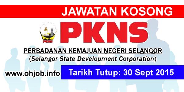 Jawatan Kerja Kosong Perbadanan Kemajuan Negeri Selangor (PKNS) logo www.ohjob.info september 2015