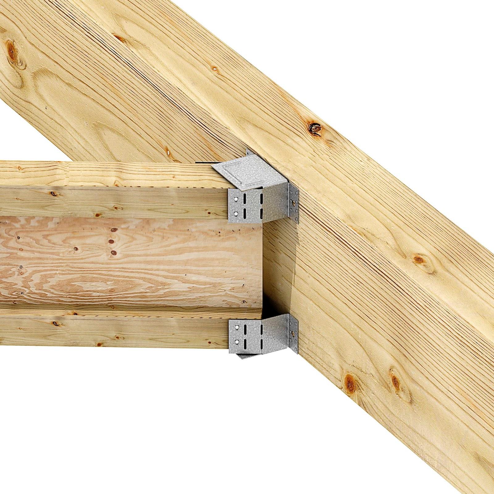 Contimeta bevestigingstechniek hoekankers en andere houtverbinders simpson strongtie - Plafond met balk ...