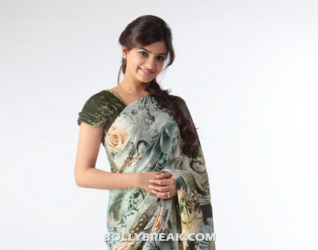 Samantha HD Wallpaper in Saree - july 2012 - Samantha Hot HD Saree Wallpapers - Latest July 2012