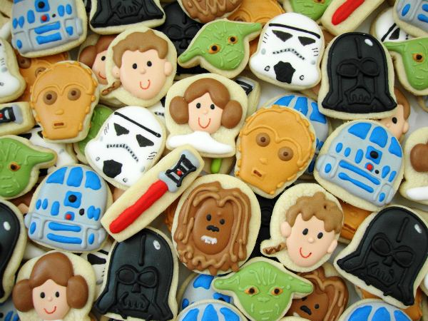 May The Fourth Be With You Star Wars cookies