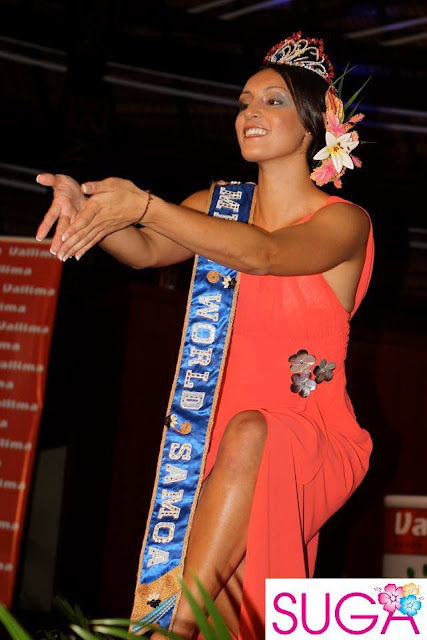 Miss World Samoa 2013 Penina Maree Paeu