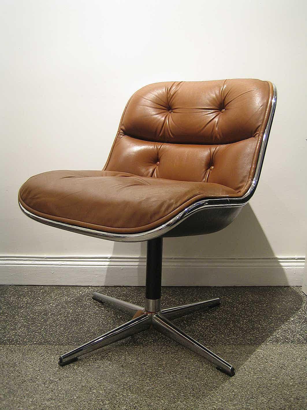 leicester bangs charles pollock best selling chair designer dies