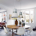 Beautiful Nordic white home with a touch of asian and vintage