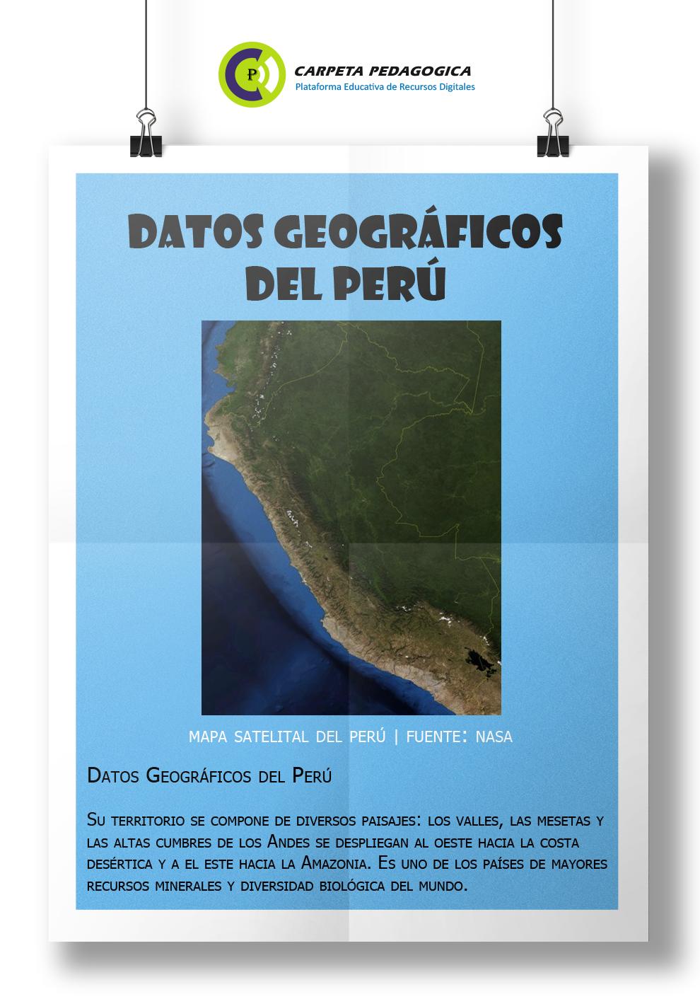 Datos Geográficos del Perú