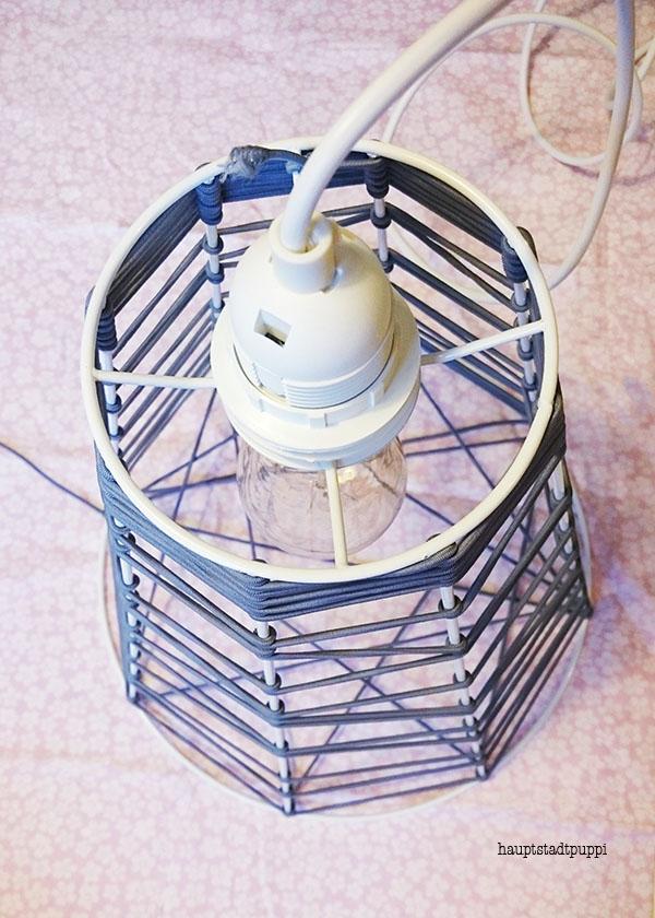 Diese DIY-Lampe entstand gestern beim DawandaConnect Event in Berlin