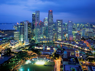 aerial view of singapore (1)