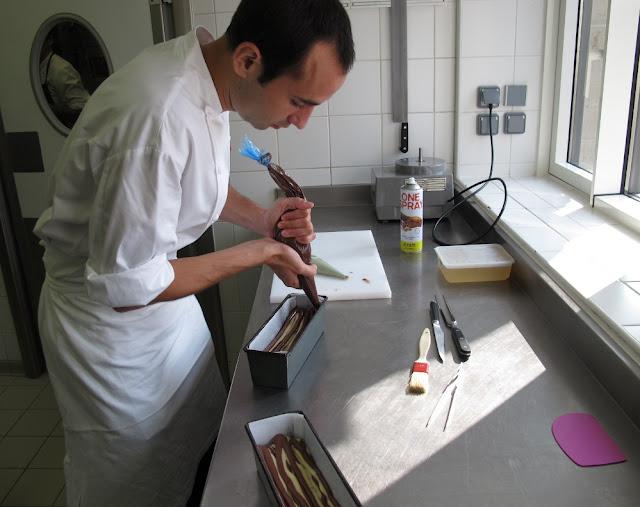 Cake marbré au chocolat - François Perret - Le Shangri La