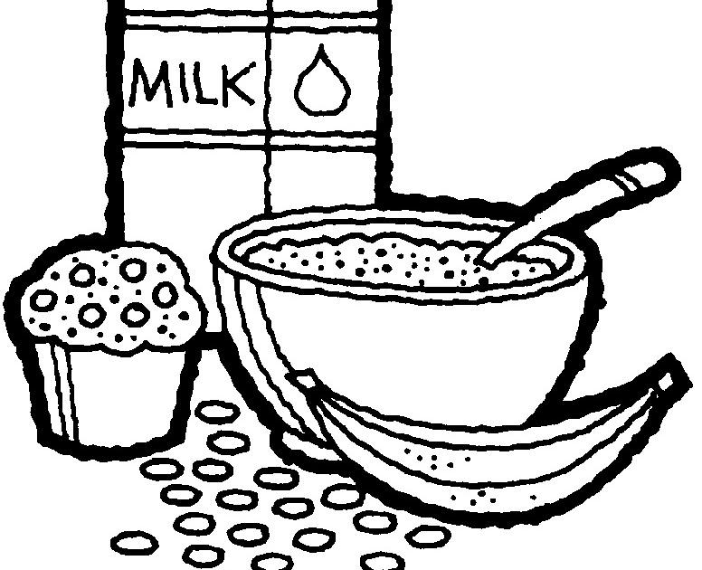 dibujos para imprimir y colorear  comida para colorear