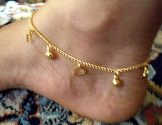 Anklets for wedding