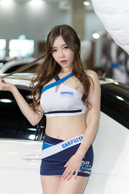 5 Lee Hwa Ri - Automotive Week 2015 - very cute asian girl-girlcute4u.blogspot.com