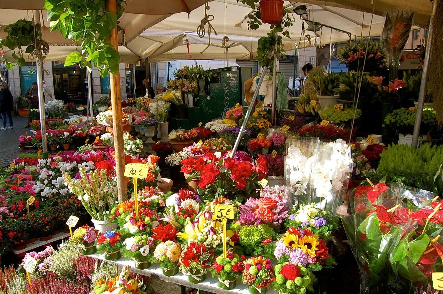campo di fiori rome italy