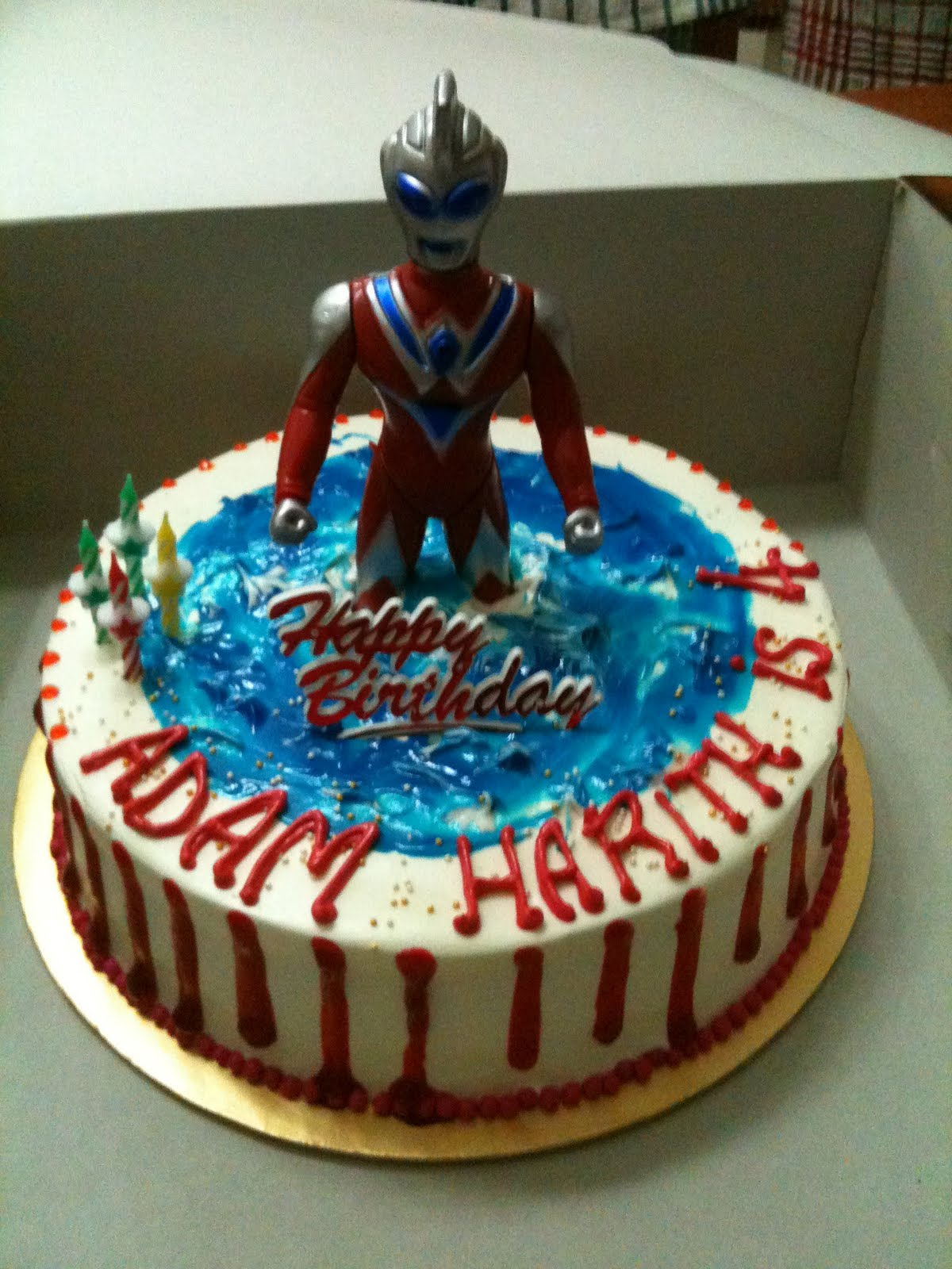 MamaBisya Cake House: Ultraman Birthday Cake