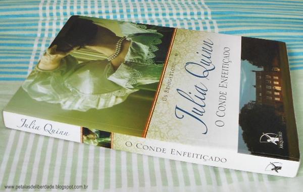Resenha, livro, O conde enfeitiçado, Julia Quinn, Arqueiro, trechos, quotes, romance de época