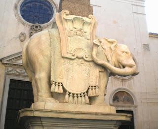 """La """"sella"""" del Pulcin della Minerva"""