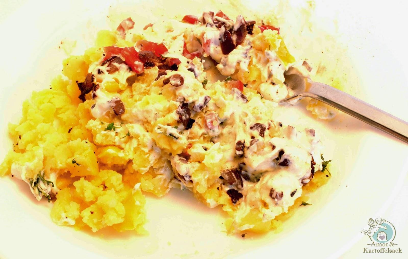 Saure Sahne Kartoffeln Röstzwiebel
