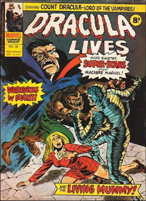 Marvel UK, Dracula Lives #56