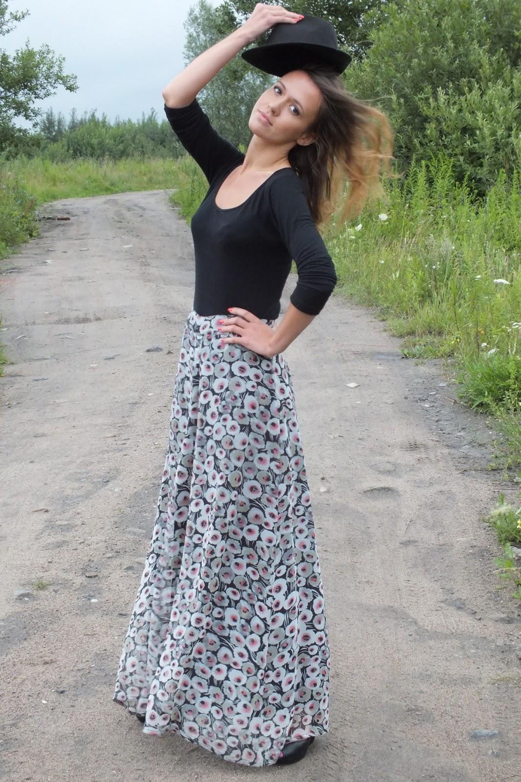 szerokie spodnie na lato