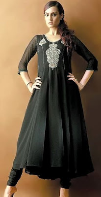 Black Anarkali Dresses