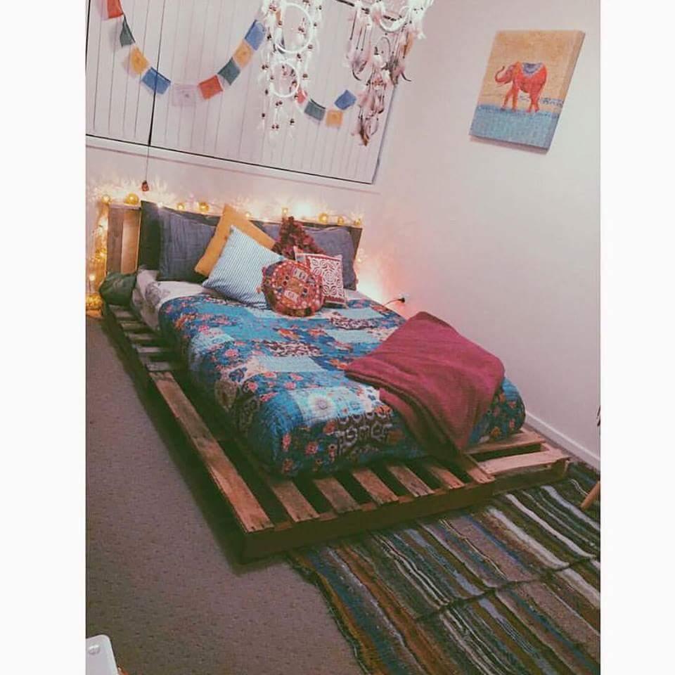 ... Love : Id?ias lindas de decora??o de quarto tem Hippie
