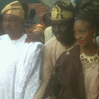 jide kosoko daughter wedding pictures