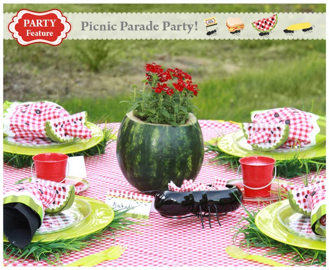 the Creative Orchard: CELEBRATE: Picnic Parade Party!