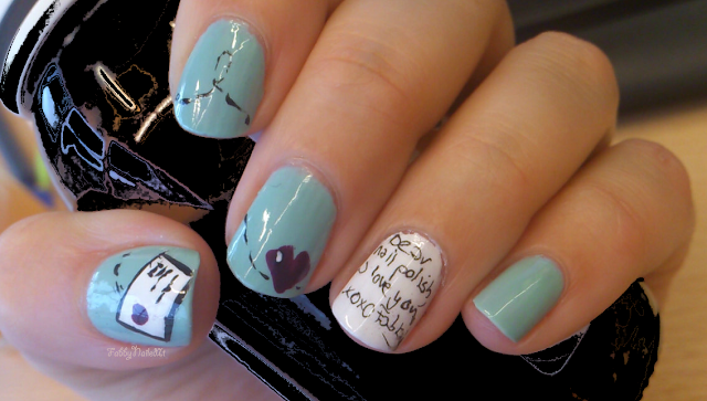 love letter manicure