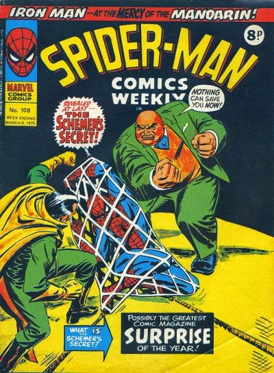 Spider-Man Comics Weekly #108, the Schemer