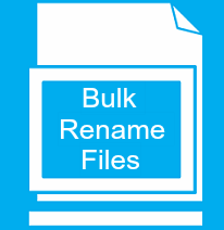 Free Windows Software To Bulk Rename Files and Modify File Extension