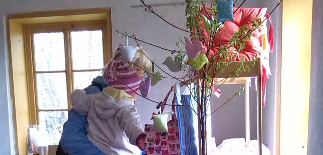 Velikonoce na Krásné v neděli 29. března 2015