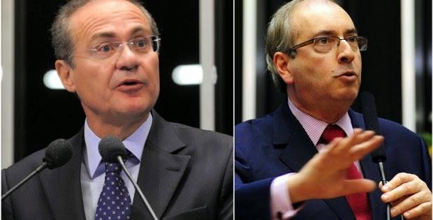 Renan Calheiros e Eduardo Cunha tentam chantagear Ministério Público e governo