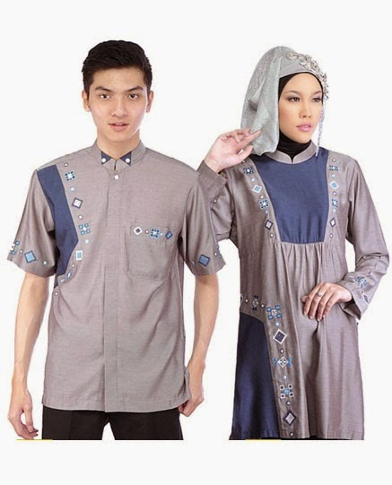 2015  FASHION COUPLE BUSANA MUSLIM