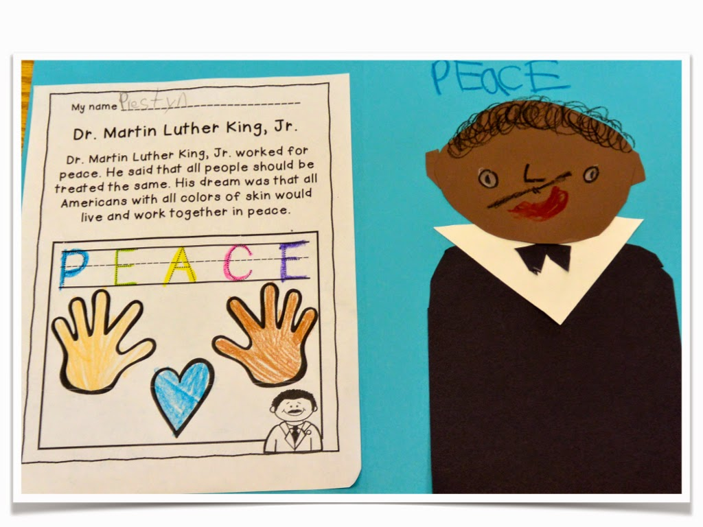 Martin Luther King Jr For Young Children Freebie Love Those