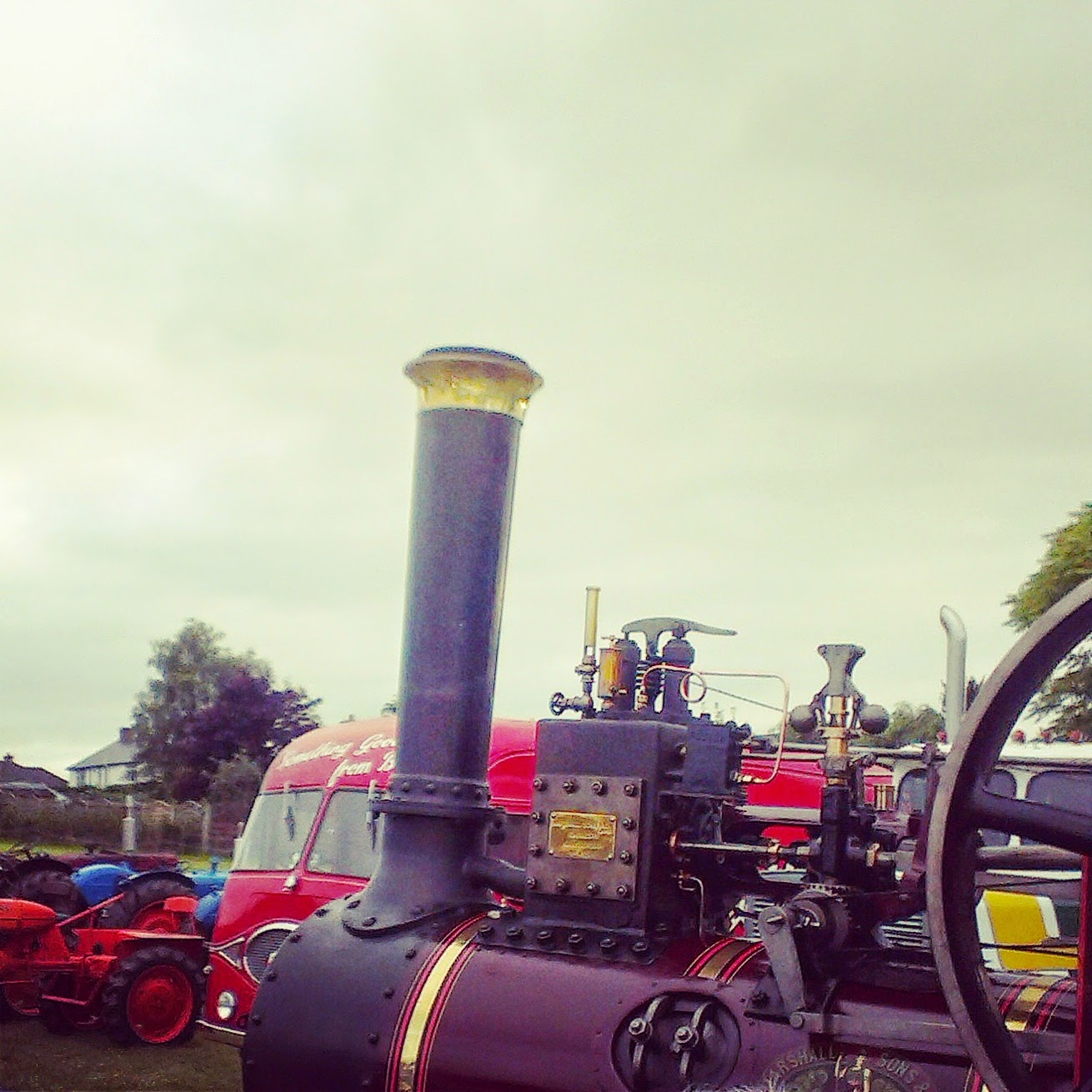 7pm - steam engine bbq