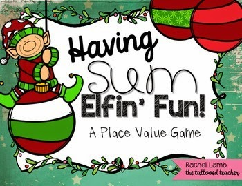 http://www.teacherspayteachers.com/Product/Sum-Elfin-Fun-Place-Value-Math-Center-Operation-ELF-FREEBIE-1606458