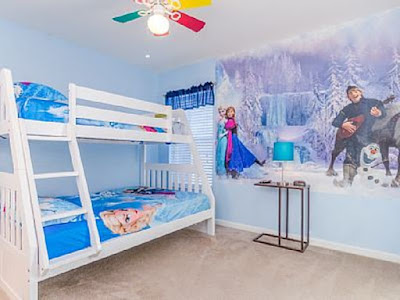 Gratis Wallpaper Dinding Kamar Tidur Anak Frozen