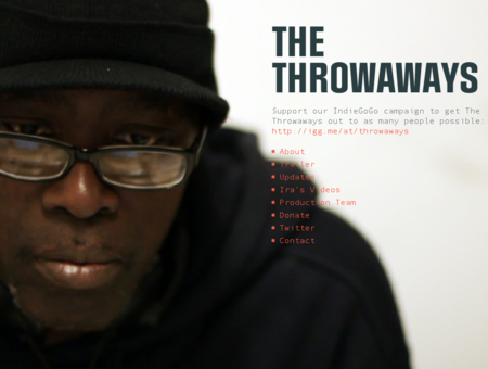 Ira McKinley, Homeless Man Creates Film - The Throwaways