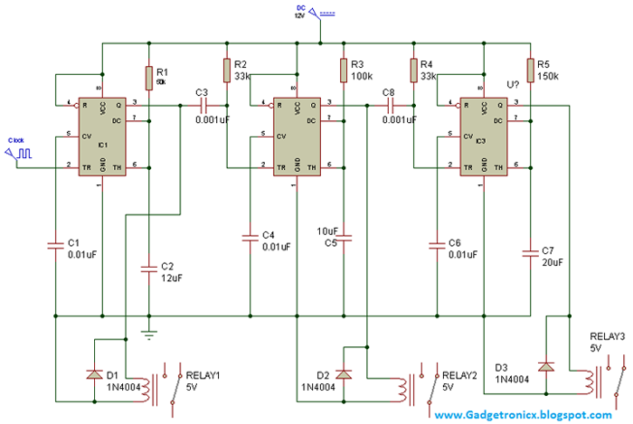 Bistable Relay Circuit Diagram Bistable Free Engine