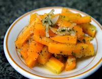 Salada de Cenoura Cozida (vegana)