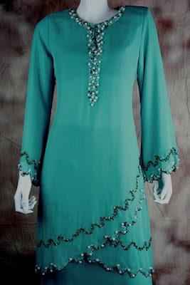 Pilihan tema warna tahun ni, Turquoise . Korang warna apa?