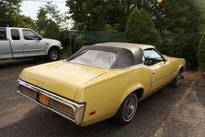 1971 Mercury Cougar XR7 Convertible.