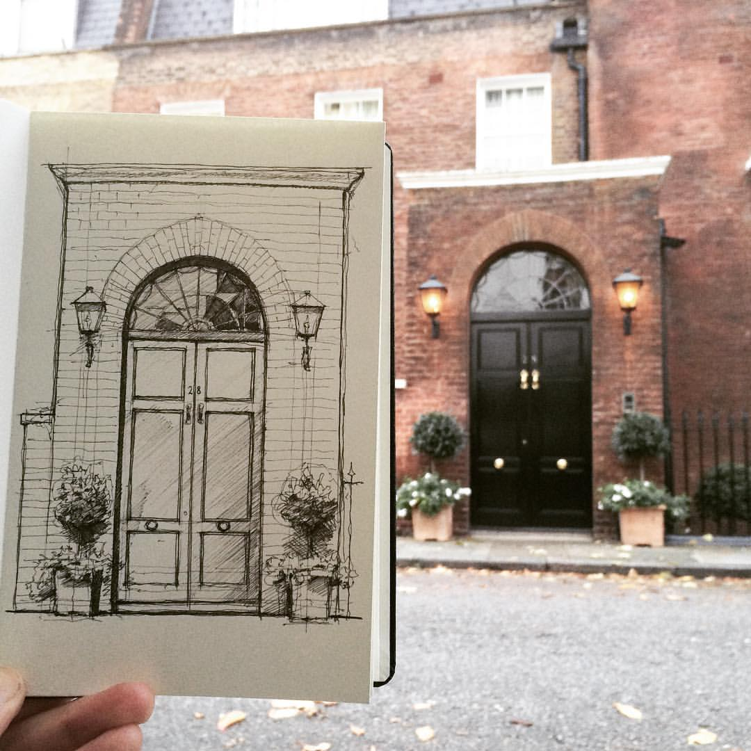 02-Door-Project-Luke-Adam-Hawker-Creating-Architectural-Drawings-on-Location-www-designstack-co
