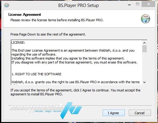 BS Player PRO Version 2.70 Español