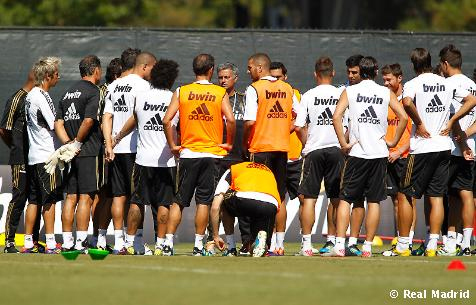 pretemporada 2011 Real Madrid