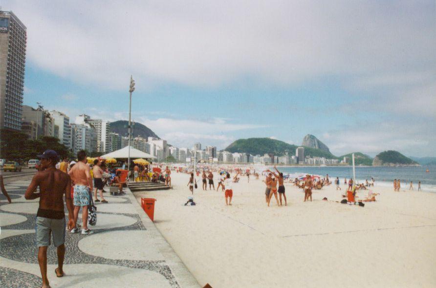 Рио де жанейро пляж копакабана фото девушек