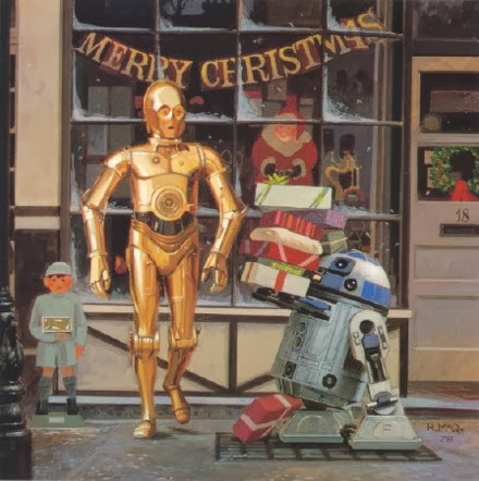 1978 lucasfilm christmas card