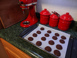 Making Nutella cookies