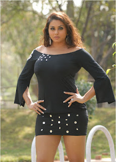Namitha Tamil Actress in Hot Black Dress Latest pictures 2012
